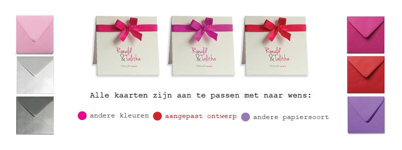 ontwerpservice trouwkaarten